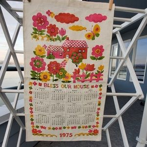 VINTAGE TEA TOWEL 1975